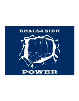 Khalsa Sikh Power Sticker