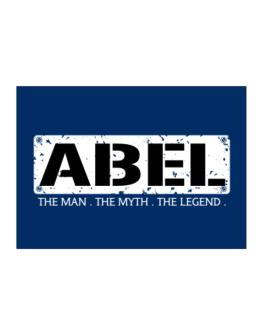 Abel : The Man - The Myth - The Legend Sticker