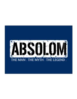 Absolom : The Man - The Myth - The Legend Sticker