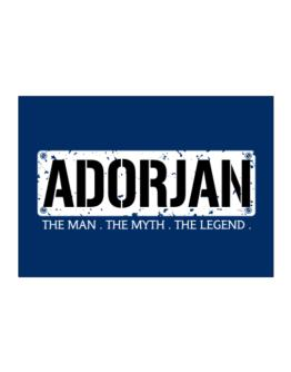 Adorjan : The Man - The Myth - The Legend Sticker
