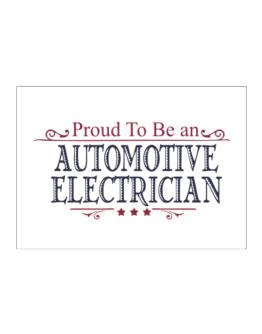 Proud To Be An Automotive Electrician Sticker