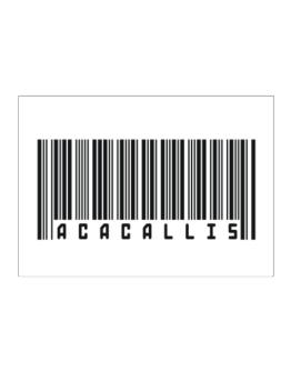 Bar Code Acacallis Sticker