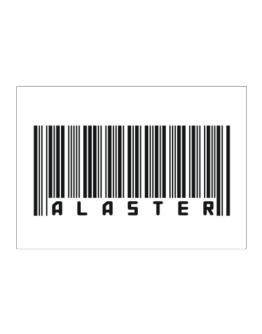Bar Code Alaster Sticker