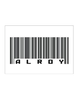 Bar Code Alroy Sticker
