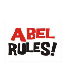 Abel Rules! Sticker