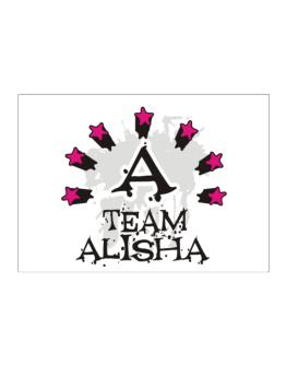 Team Alisha - Initial Sticker