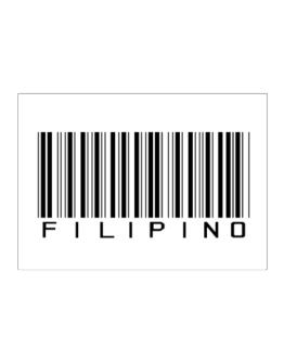 Filipino Barcode Sticker