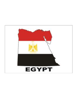 Egypt - Country Map Color Sticker