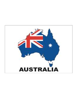 Australia - Country Map Color Sticker