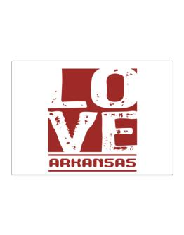 Love Arkansas Sticker