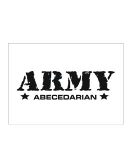 Army Abecedarian Sticker