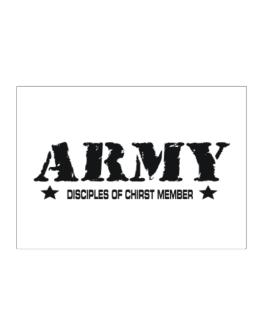 Army Disciples Of Chirst Member Sticker