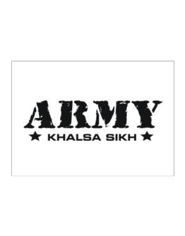 Army Khalsa Sikh Sticker