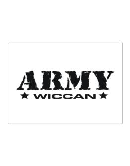 Army Wiccan Sticker