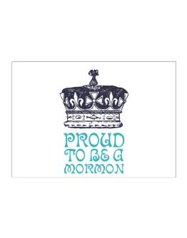 Proud To Be A Mormon Sticker