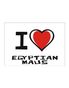 I Love Egyptian Maus Sticker
