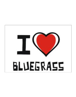 I Love Bluegrass Sticker