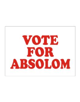 Vote For Absolom Sticker