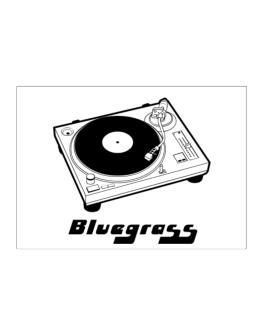 Retro Bluegrass - Music Sticker
