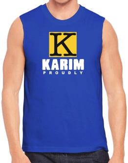 Proud To Be Karim Sleeveless