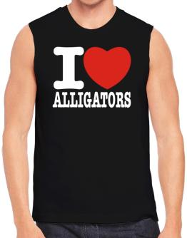I Love Alligators Sleeveless