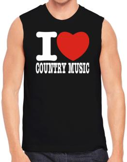 Polo Sin Mangas de I Love Country Music