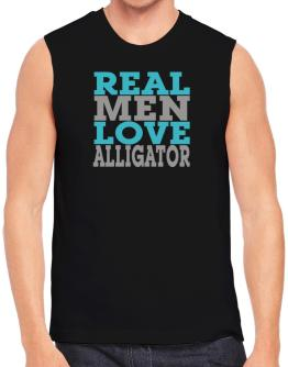 Real Men Love Alligator Sleeveless