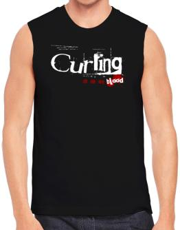 Curling Is In My Blood Sleeveless