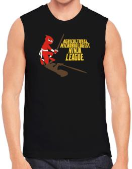 Agricultural Microbiologist Ninja League Sleeveless