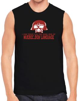 I Can Teach You The Dark Side Of Quebec Sign Language Sleeveless
