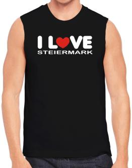 """ I LOVE Steiermark "" Sleeveless"