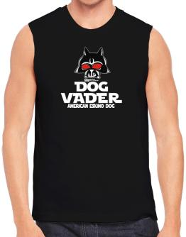 Dog Vader : American Eskimo Dog Sleeveless