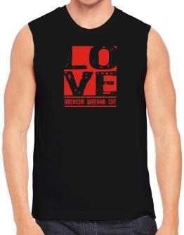Love American Wirehair Sleeveless