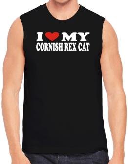 I Love My Cornish Rex Sleeveless