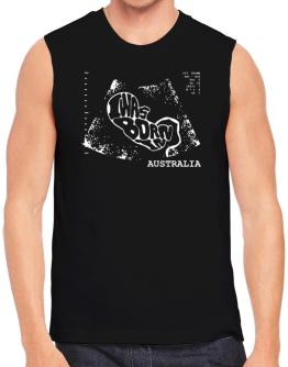 I Was Born In Australia - Ultrasound Image Sleeveless