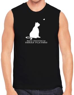 Easily Distracted By Rebab Players Sleeveless