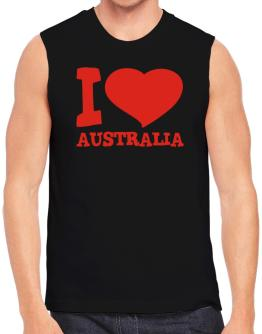 I Love Australia Sleeveless