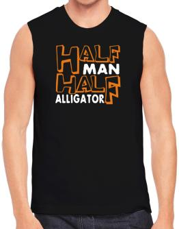 Half Man , Half Alligator Sleeveless