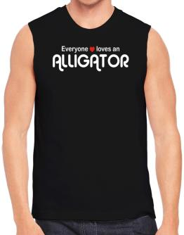 Everyones Loves Alligator Sleeveless