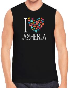 I love Ashera colorful hearts Sleeveless