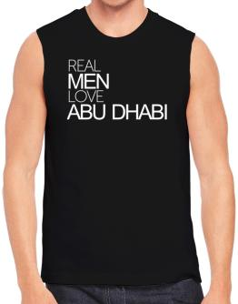 Real men love Abu Dhabi Sleeveless