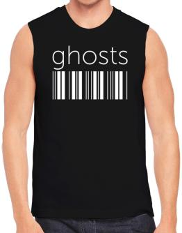 Ghosts barcode Sleeveless
