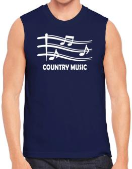 Polo Sin Mangas de Country Music - Musical Notes