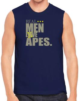 Real Men Love Apes Sleeveless