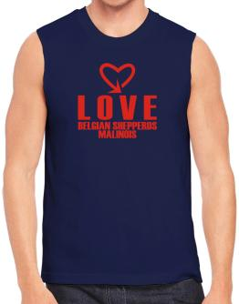 Love Belgian Shepperds Malinois cool style Sleeveless