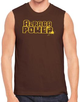 Alpaca Power Sleeveless