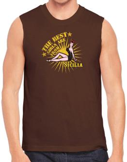 The best girls are from Sicilia - pinup Sleeveless