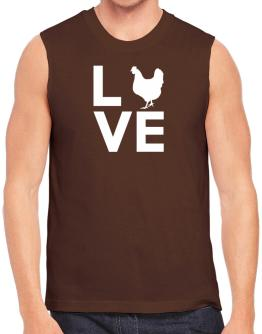 Love chickens Sleeveless