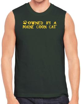 Owned By A Maine Coon Sleeveless