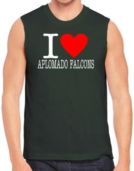 I Love Aplomado Falcons Sleeveless